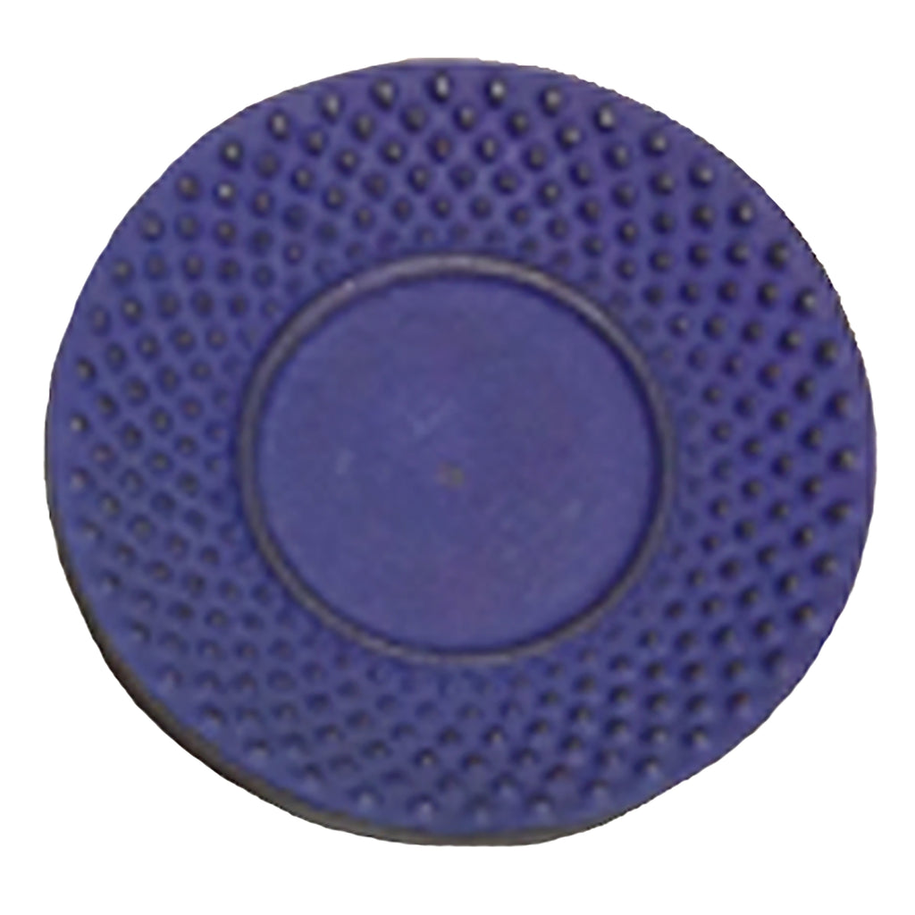 "Creative Home Cast Iron 3.75"" Round Coaster- Blue"