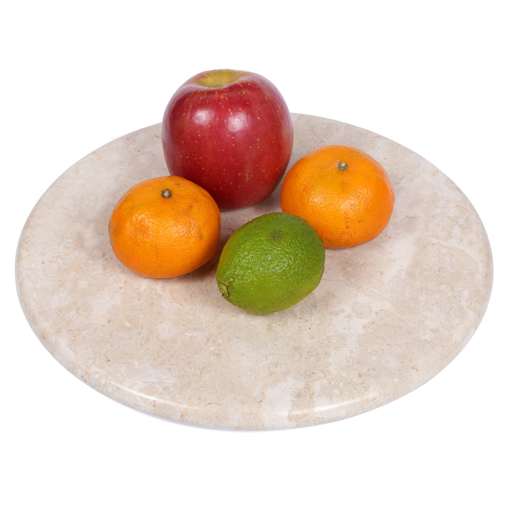 "Creative Home Champagne Marble 12"" Lazy Susan"