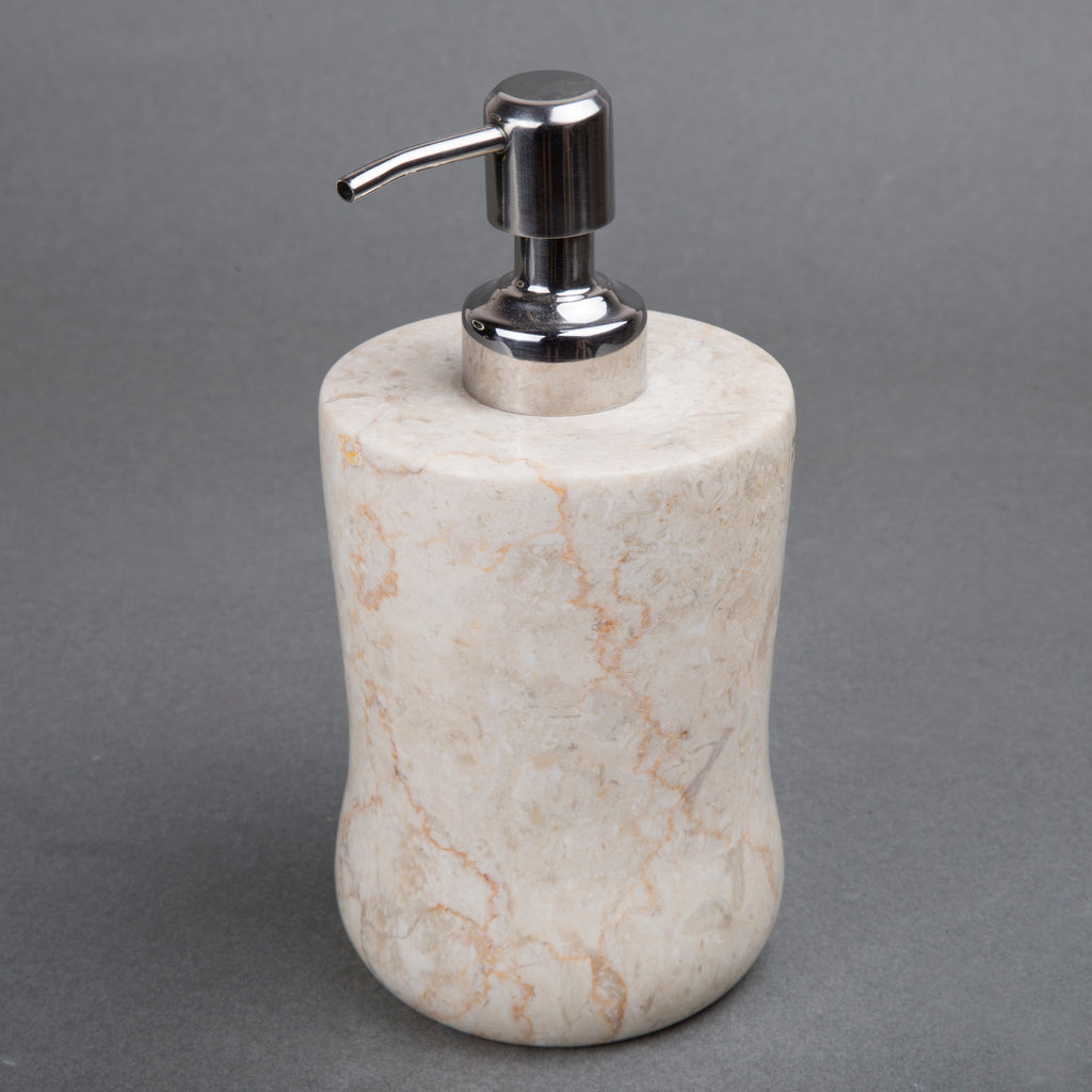 Creative Home Champagne Marble Bath Liquid Soap Dispenser - Curvy Shape