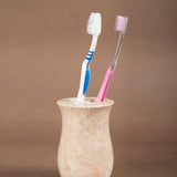 Creative Home Marble Bath Toothbrush Holder - Vase design