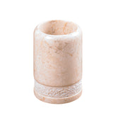 Creative Home Champagne Marble Spa Hand Carved Tumbler