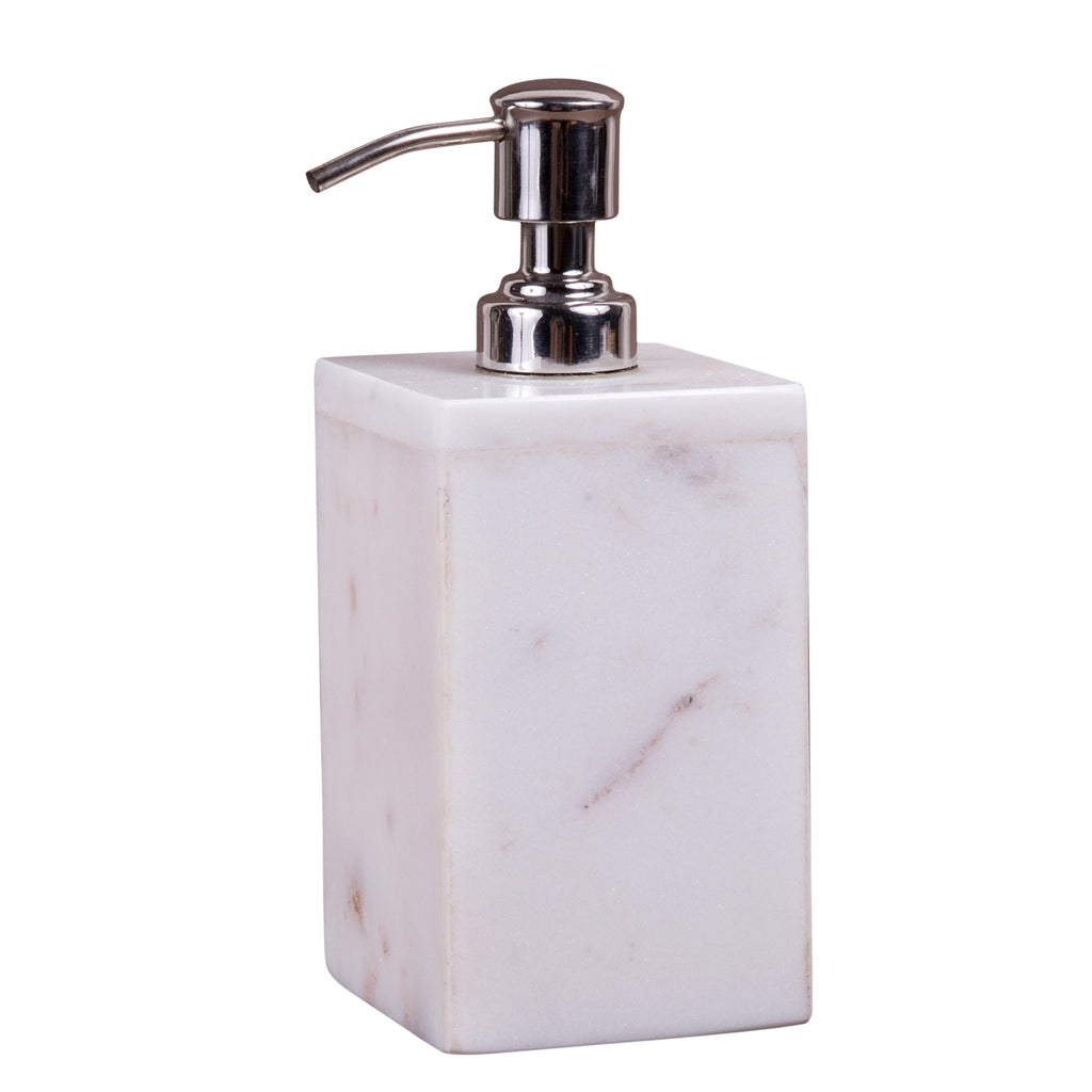 Creative Home Natural Marble Lotion Liquid Soap Dispenser