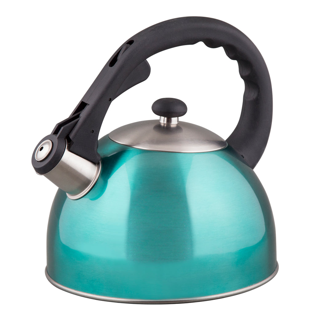Creative Home Satin Splendor 2.8 Qt S/S Whistling Tea Kettle