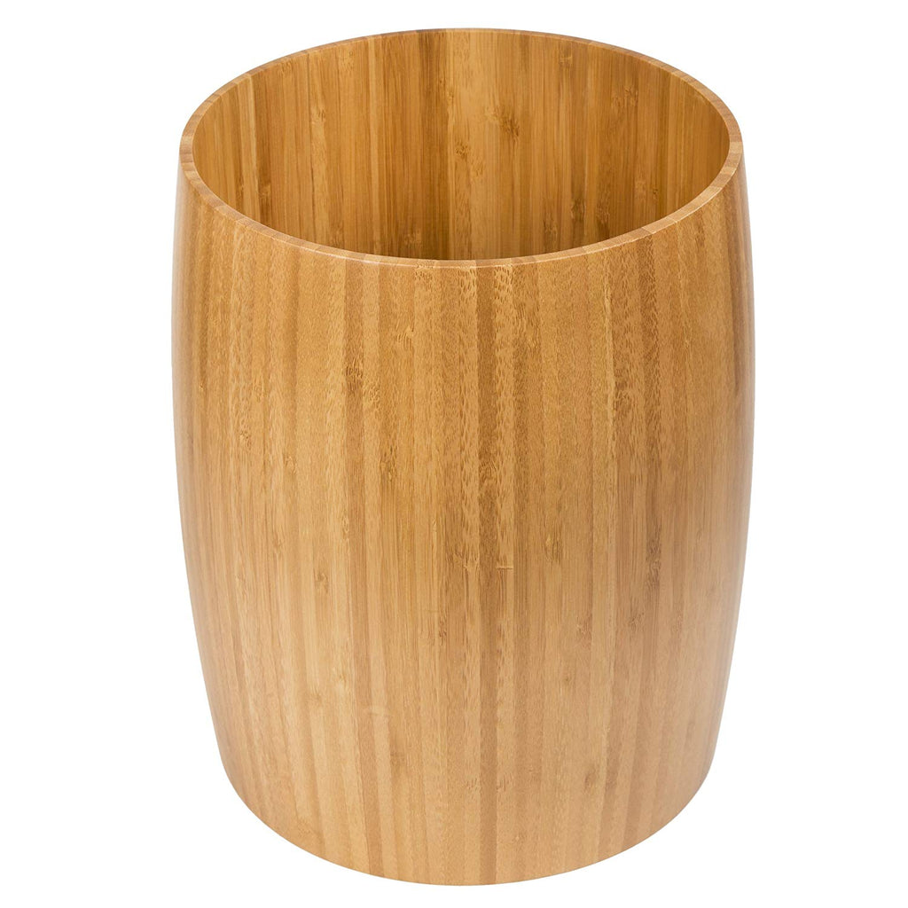 Natural Bamboo Waste Basket, Trash Can