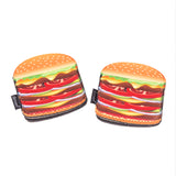 Creative Home Set of 2 (One Pair) Neoprene Oven Mitt Heat Resist Pot Holder Grabber