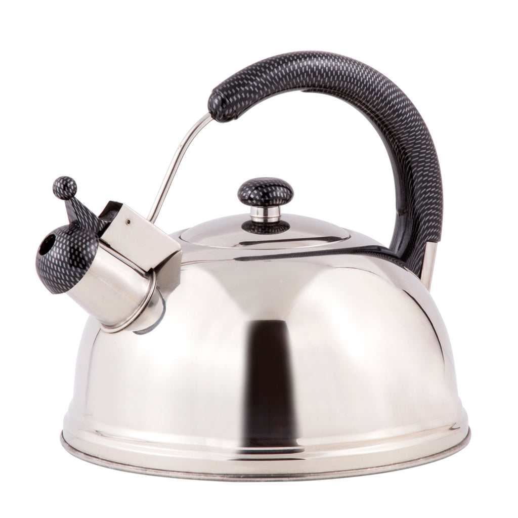Cobra 2.7 Quart Stainless Steel Whistling Tea Kettle with Aluminum Capsulated Bottom