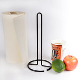 Heavy Gauge Copper Plated Metal Paper Towel Holder