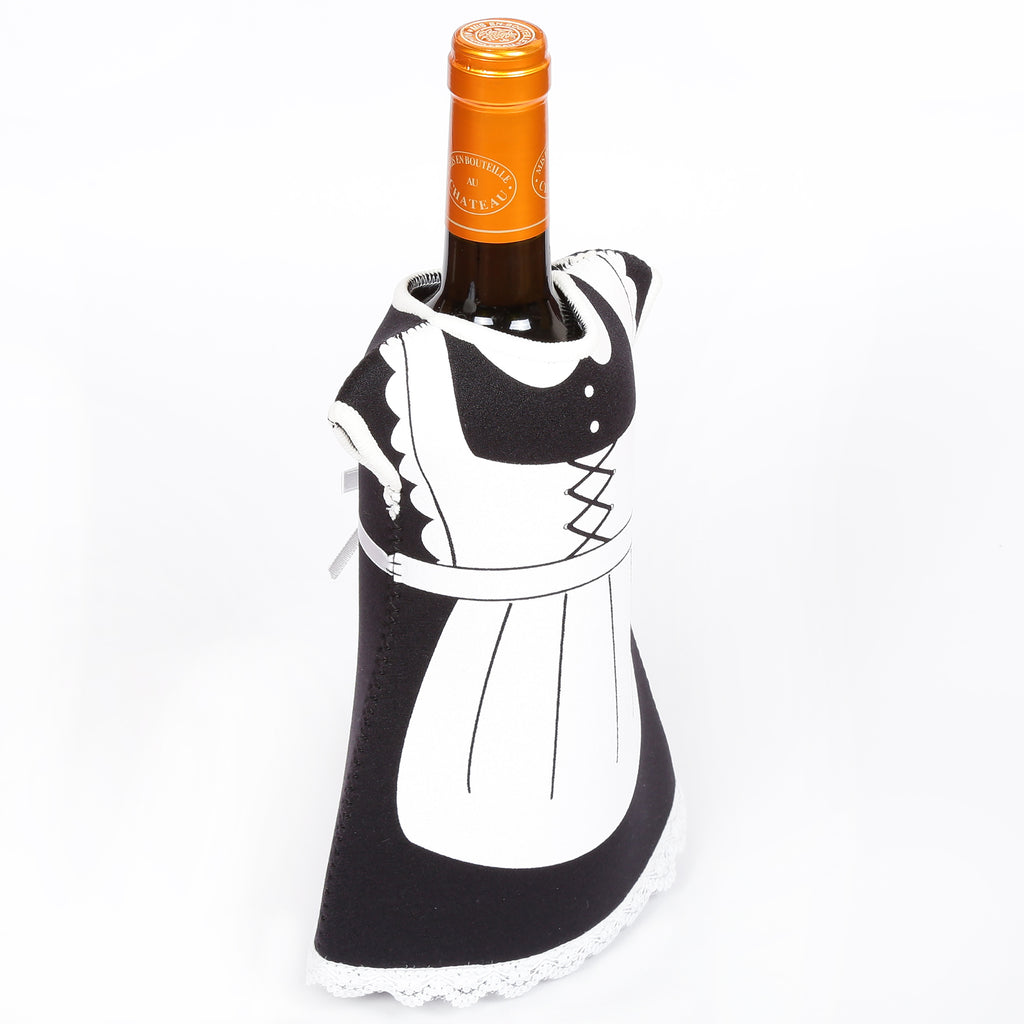 Creative Home Set of 2 Pieces Neoprene Wine Bottle Cover, Jacket
