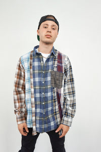 Patchwork Plaid Flannels