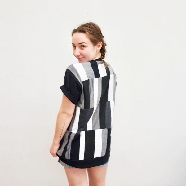 Handmade Black and White Clothing