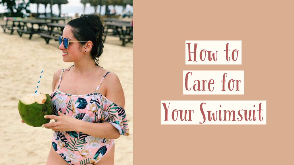 How to Care for Your Swimsuit | Swimsuit Clean and Care Guide