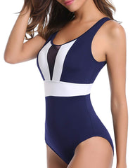 See Through Cut Out U Neck Monokini - Tempt Me