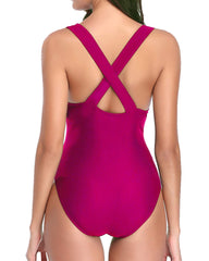 Deep Plunge Sexy Hollow Out Monokini - Tempt Me