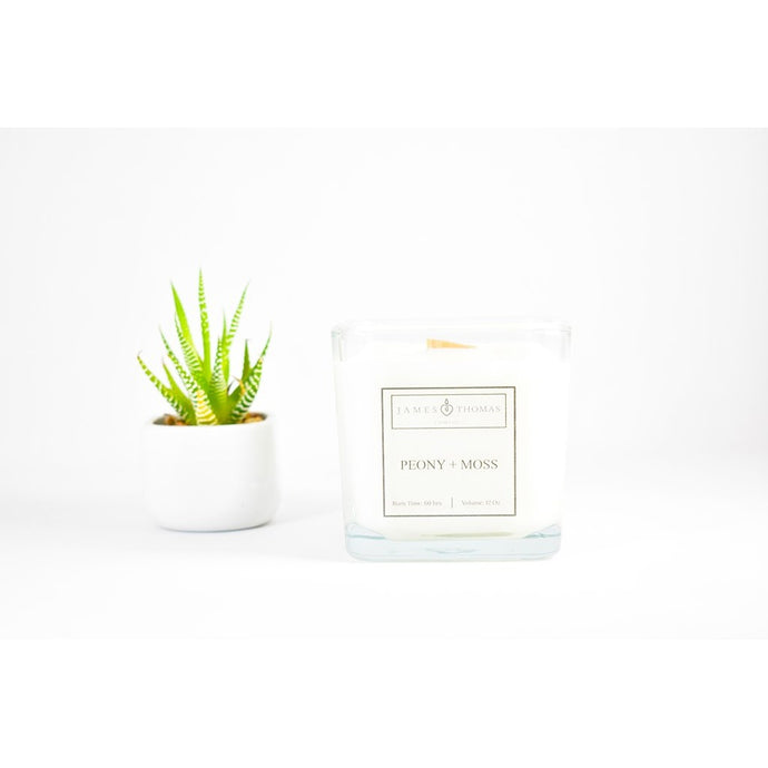 Peony Moss Classic Collection Candle