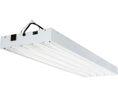 Agrobrite T5 216W 4' 4-Tube Fixture with Lamps, 240V