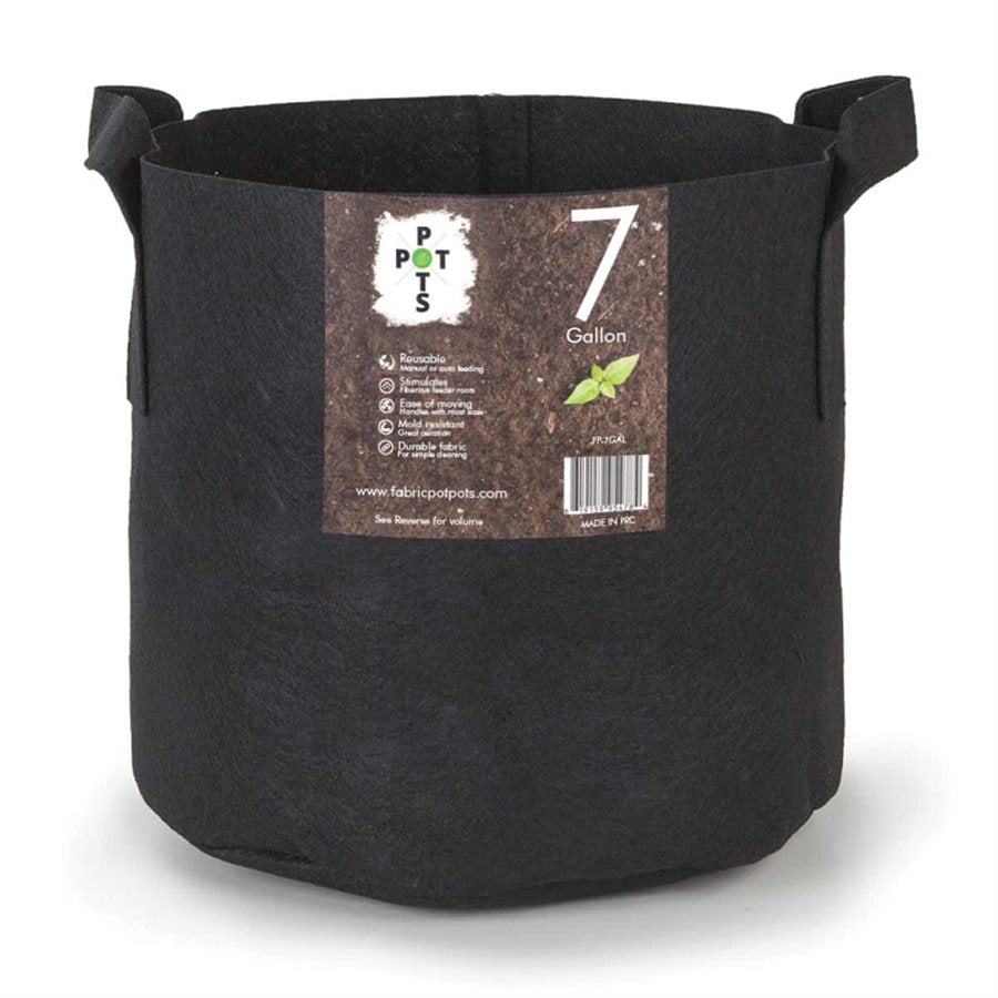 7 Gallon Fabric Pot w/ handles