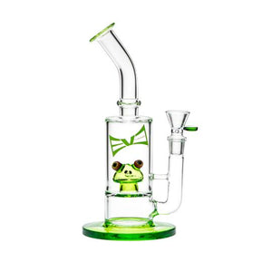 "11"" Kermit by Evolution Glass"