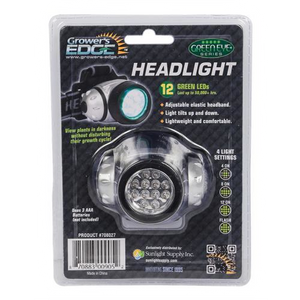 Grower's Edge Green LED Headlight