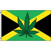 Jamaica Leaf Flag