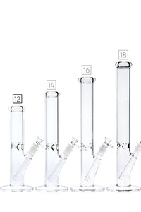 No Logo Clear Straight Tube