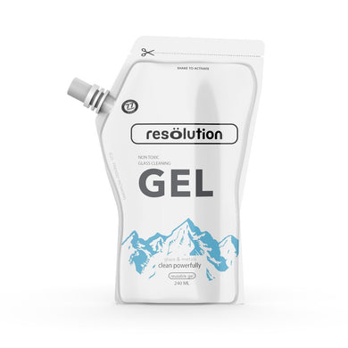 Resolution Gel Glass Cleaner