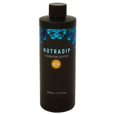 Nutradip pH 4.0 Calibration Solution 500ml