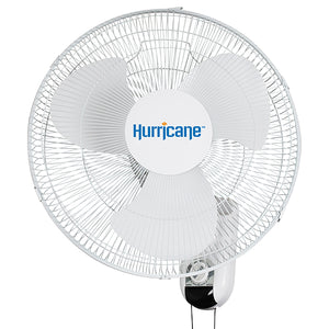 Hurricane Classic Osciallating Wall Mount Fan 16inch