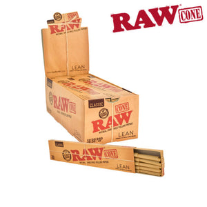 RAW Pre-Rolled Cones Lean