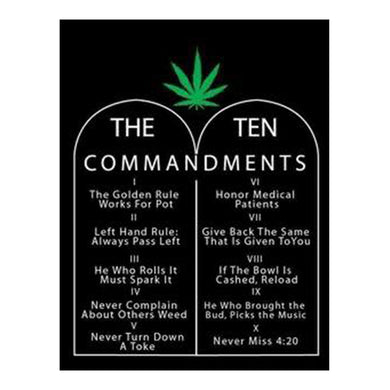 Ten Commandments Flag