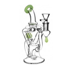 "8"" Bent Neck Recycler by Pulsar"