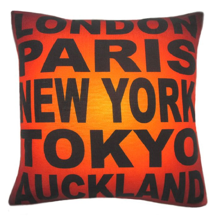Cool Novelty Cushion Cover Kiwiana at its best by New Zealand Artist Peter Karsten