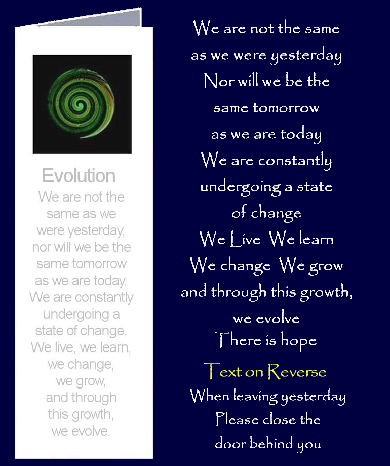 Evolution by Peter Karsten from his book