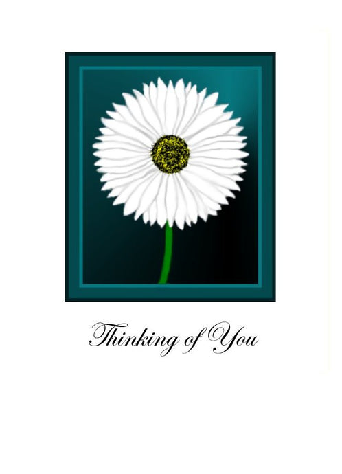 Thinking of You - Daisy greeting card
