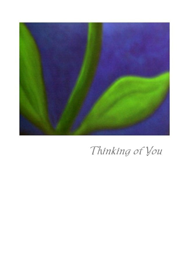 Wholesale Greeting Cards. Thinking of You or sympathy card - subtle and sincere by Peter Karsten