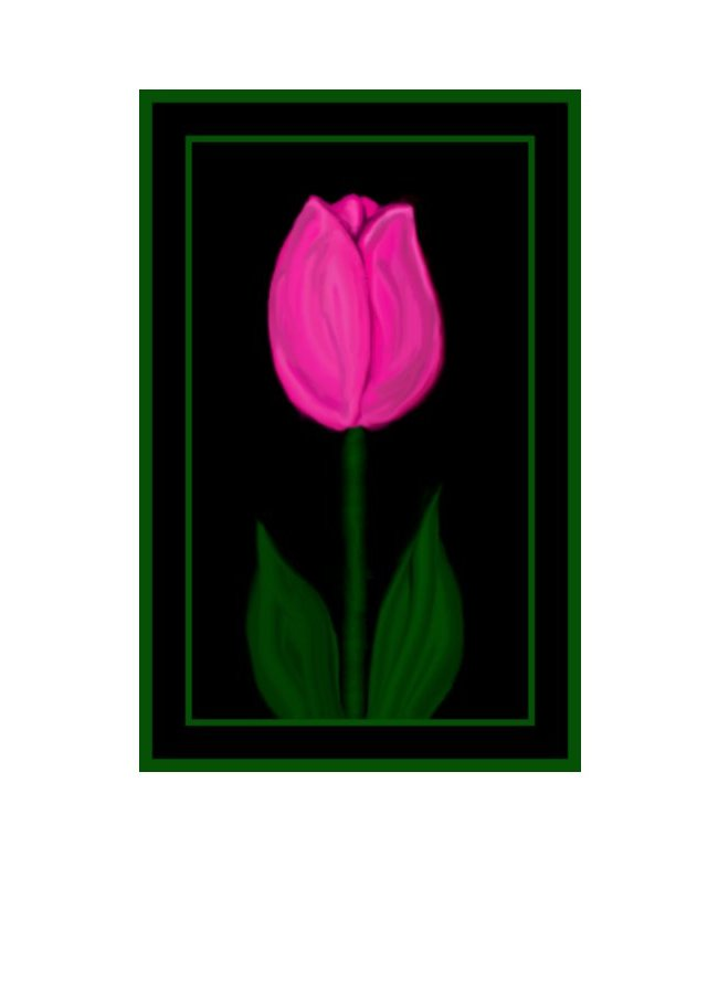 Tulip Greeting Card