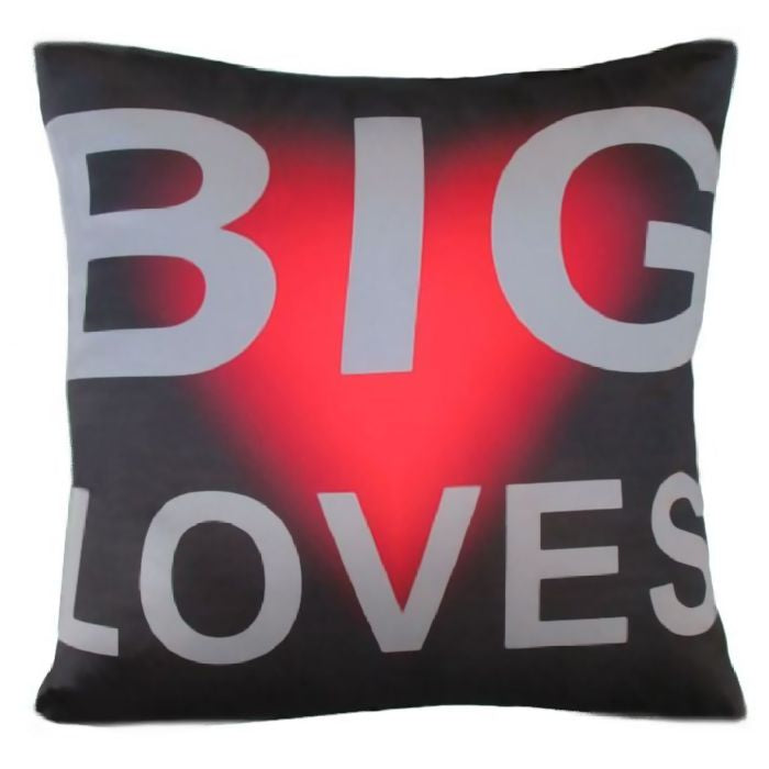 Big Loves on this Cushion Cover by Chelsea Design NZ.  45cm x 45cm