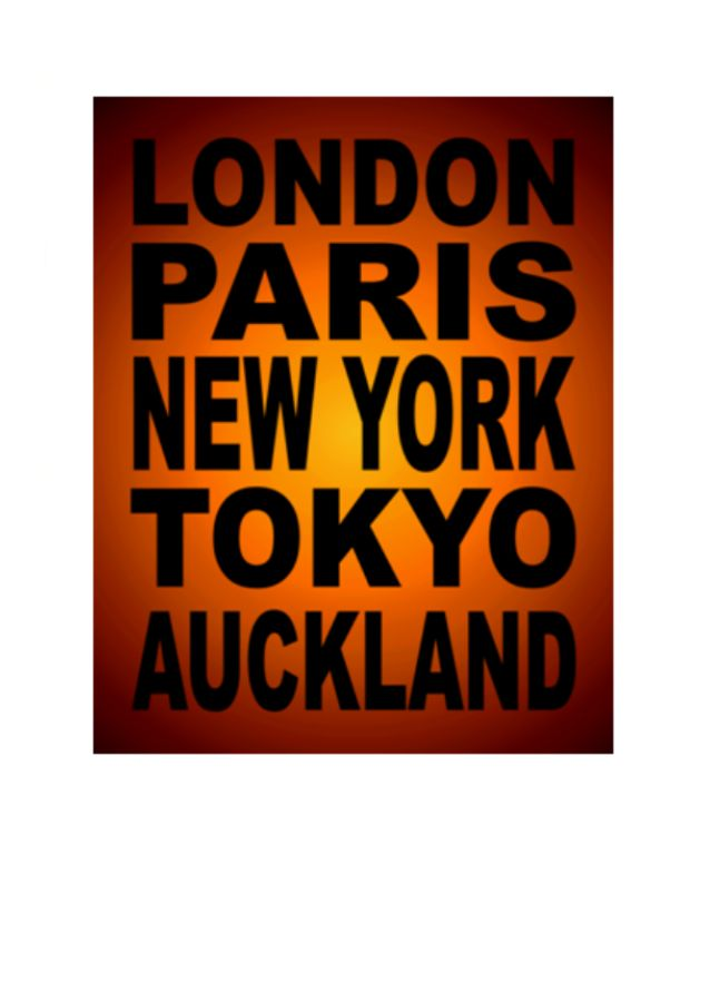 Wholesale Greeting Cards by NZ Artist Peter Karsten.  London ParIs Tokyo Auckland.