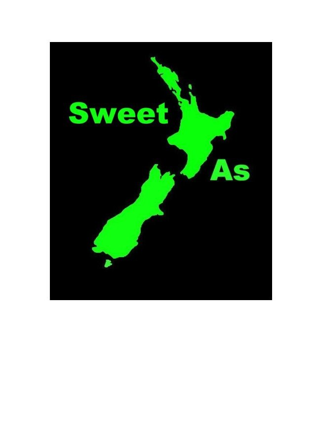 Sweet As Greeting Card by New Zealand Artist Peter Karsten.  Wholesale Greeting Cards, Note Cards & Art Cards
