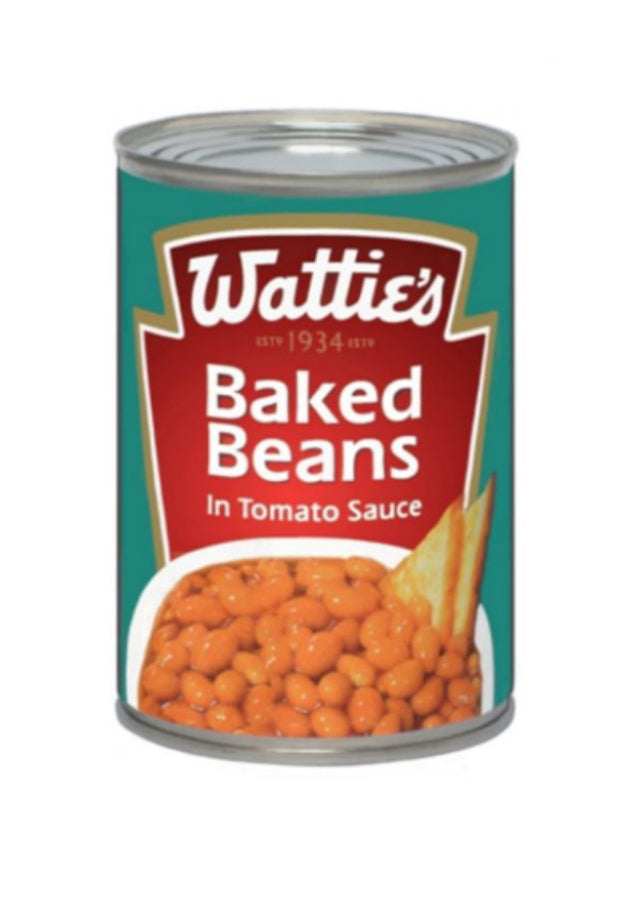 "Wholesale Greeting Cards & Art Cards. The iconic Wattie's Baked Beans by NZ Artist Peter Karsten. ""Wattie's label design used by permission"""