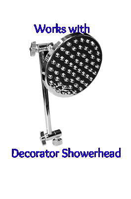 Shower Solution™ Decorator Shower Head Replacement Cartridge