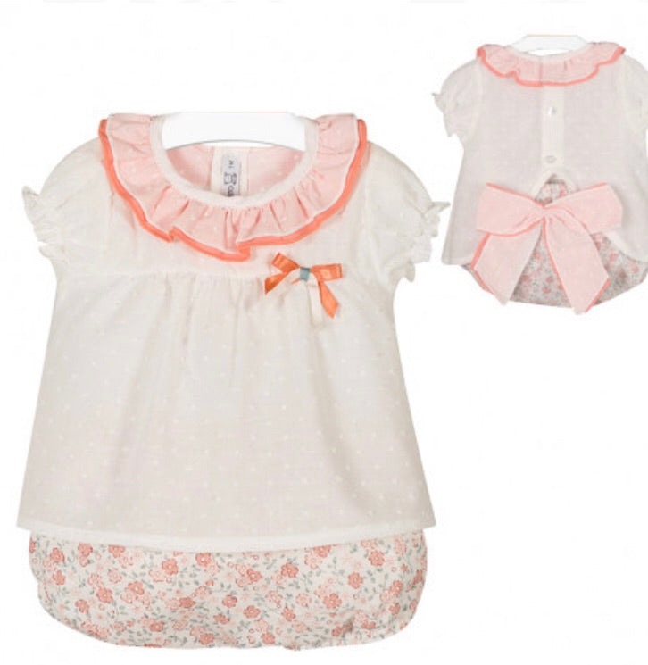 Flowery bloomer set