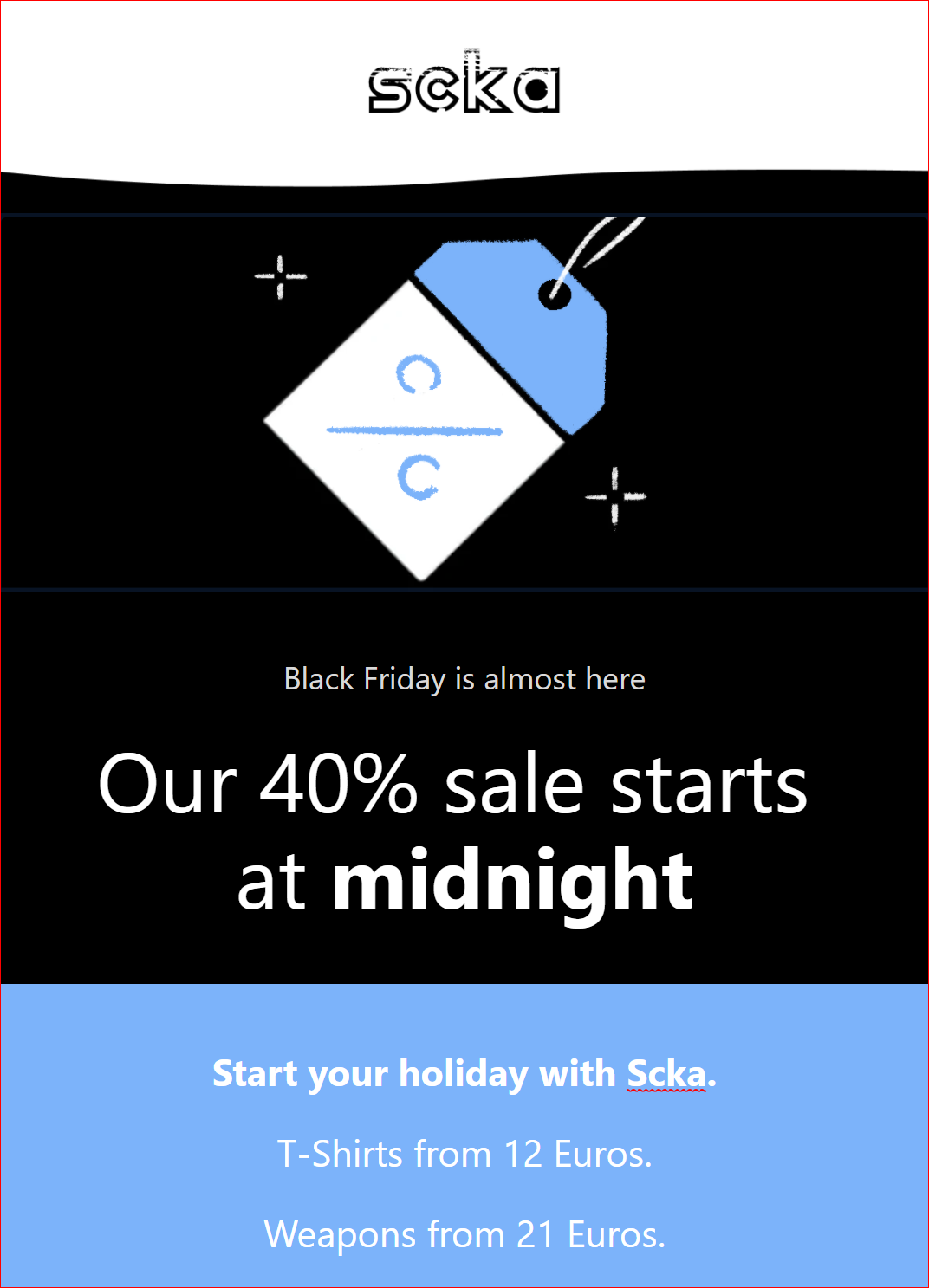 Scka Black Friday