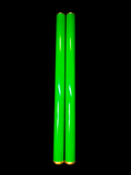 Scka Flame PRO Series - The Not Chakus (Green) - Not-Chakus - Scka Weapons - Scka Weapons - Scka Weapons