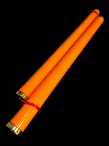 Scka Flame PRO Series - The Not Chakus (Orange) - Scka Weapons