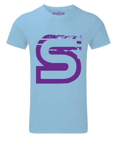 Scka Azure n' Purple Classic Tee - Scka Weapons
