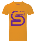 Scka Orange n' Purple Classic Tee - Scka Weapons