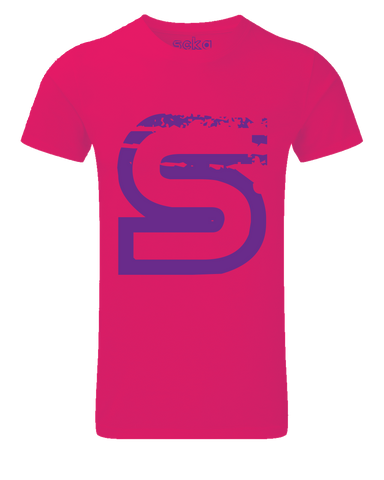 Scka Pink n' Purple Classic Tee - Scka Weapons