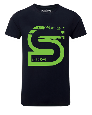 Scka – Blue/Green Classic Tee - Scka Weapons