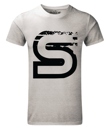 Scka Grey n' Black Classic Tee - Scka Weapons