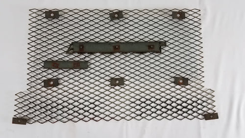 Used Fj40/Bj40 Mesh Grille/ Radiator Screen W/ bracket for Diesel Emblem 79-84